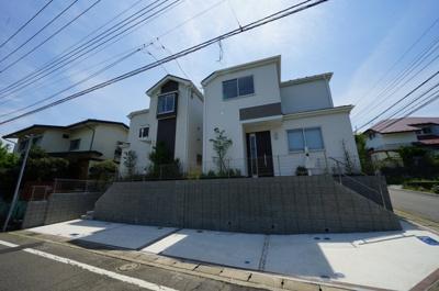 【外観】保土ヶ谷区東川島町全2棟 新築戸建【成約】