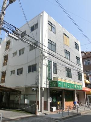 西田辺駅から徒歩4分 コーポ阪南町 鉄骨造 4階建