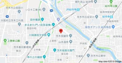 【地図】東宮町戸建