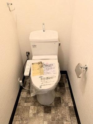 トイレも新品です♪