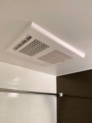 浴室暖房乾燥機付きで快適♪