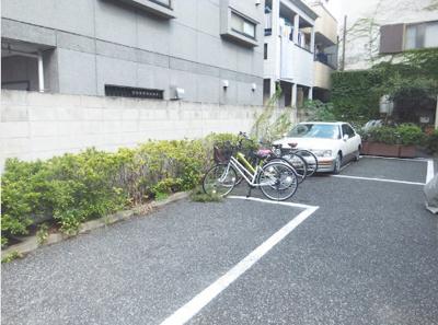 【駐車場】マンション武蔵野Ⅱ