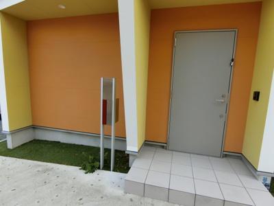 オシャレな玄関です
