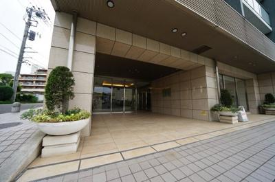 【エントランス】シティハウス三ツ沢公園