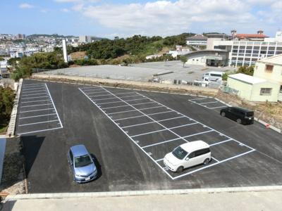 【駐車場】武(タケ)マンション駐車場
