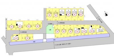 1号地 建物プラン図