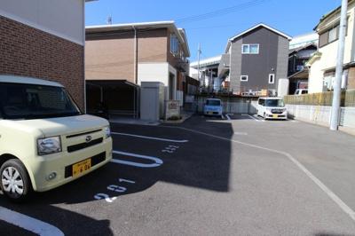 【駐車場】名谷ハイツ