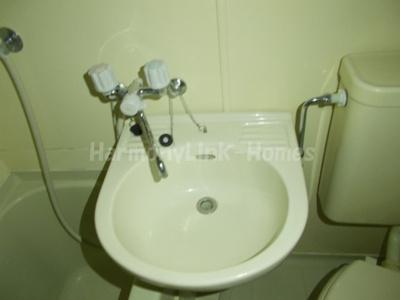 シティパル富士の広い洗面スペース☆