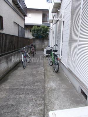 シティパル富士の駐輪スペース☆