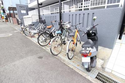 バイク&自転車置き場