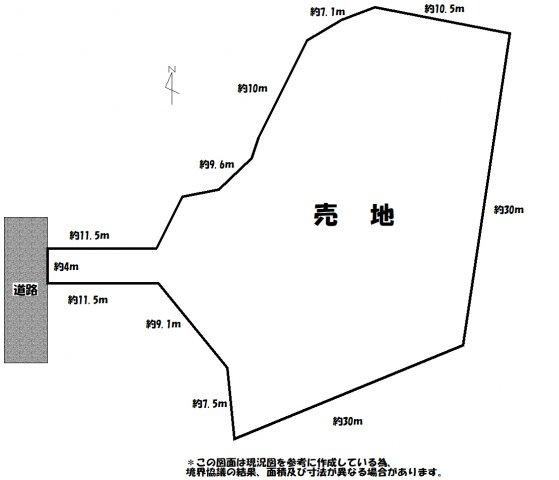 【土地図】歴木売地
