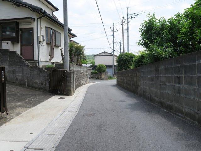 【前面道路含む現地写真】歴木売地