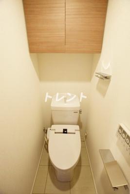 【トイレ】ベルテラス早稲田