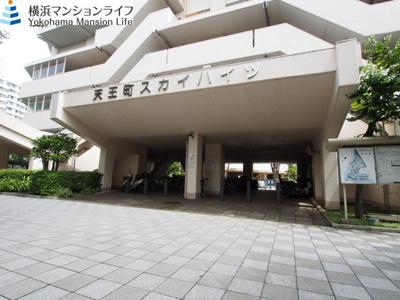 【エントランス】天王町スカイハイツ団地