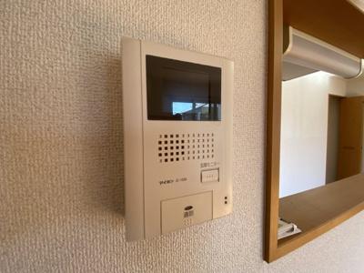 TVモニター付きで安心です♪