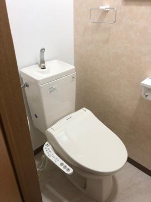 【トイレ】門真市小路北町 中古戸建て