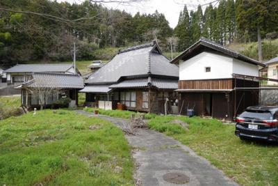 【外観】美作市小野 中古住宅3LDK+離れ+蔵