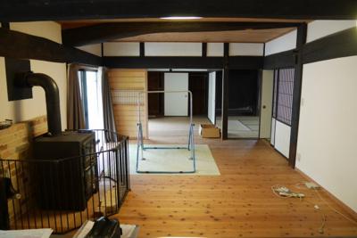 【居間・リビング】美作市小野 中古住宅3LDK+離れ+蔵