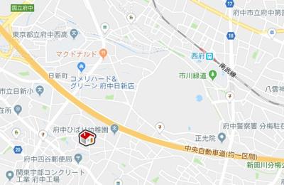 【地図】レオパレスサンロイヤルY(35024-203)