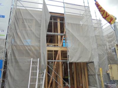 【外観】寝屋川市高柳1丁目 新築一戸建て