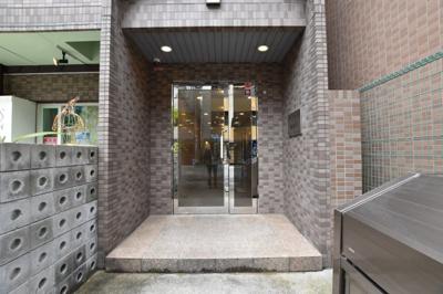 【エントランス】ベルフレージュ南堀江