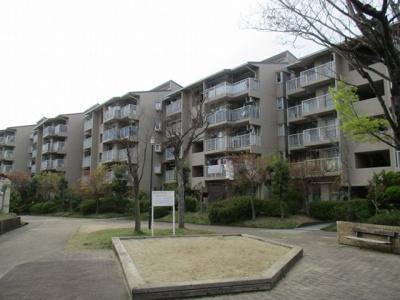 【外観】名谷竜が台東住宅15号棟