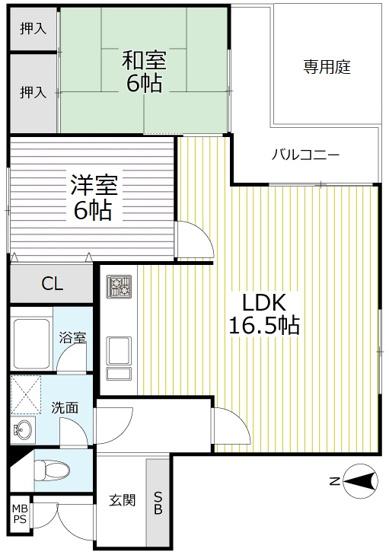◆駅徒歩4分◆リノベーション済み美宅◆専用庭付き◆シェモア御池新町