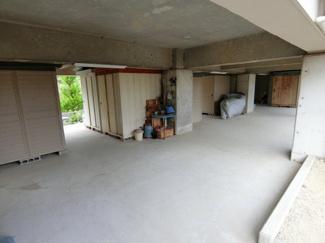 1F共用スペースの倉庫部分です