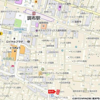 【地図】Cours