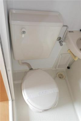 トイレもきれいです☆