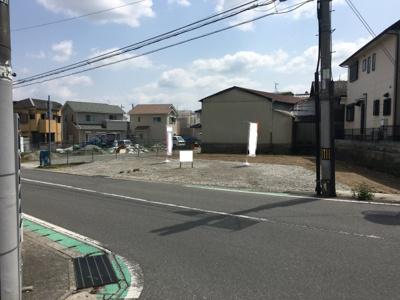 【前面道路含む現地写真】福井1丁目2号地