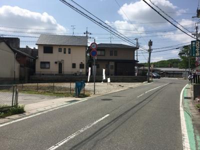 【前面道路含む現地写真】福井1丁目1号地
