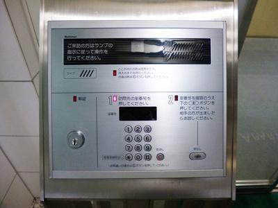 ニューシティアパートメンツ蔵前のモニター付オートロックセキュリティです