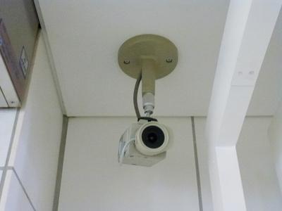 ニューシティアパートメンツ蔵前のセキュリティです、礼金0、ペット可