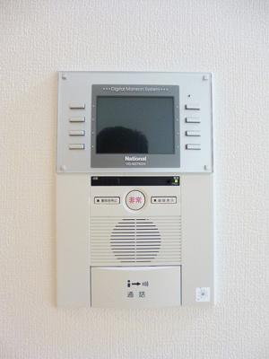 ニューシティアパートメンツ蔵前のモニター付インターホンセキュリティです