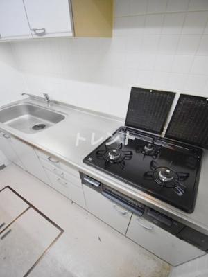【キッチン】リューズリバー月島