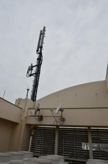 屋上 携帯会社 中継器