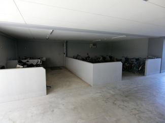 屋内 駐輪場も完備されてます