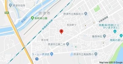 【地図】フローラハイツ