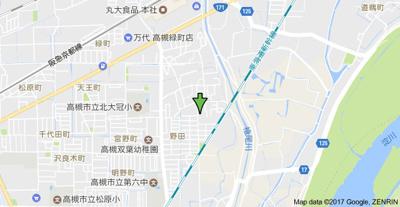 【地図】野田シャトルマンション A棟 (株)Roots