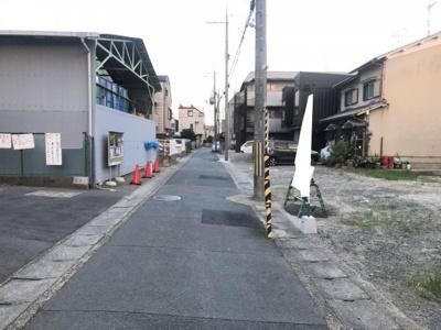 【前面道路含む現地写真】リーブルガーデン京都市伏見区横大路貴船