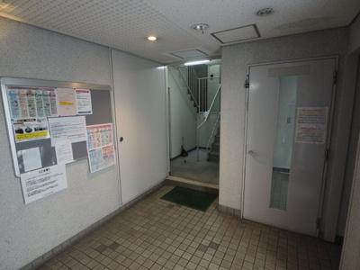 【ロビー】アメニティ東神戸2番館