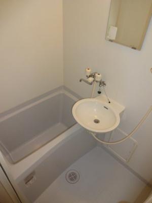【浴室】レオパレス六甲北二番館