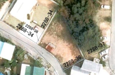 【前面道路含む現地写真】恩納村希望が丘134坪