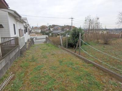 【前面道路含む現地写真】東松山市野田 売地