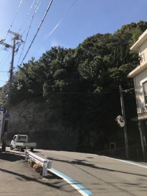 【前面道路含む現地写真】【売地】明和中学校区・56521