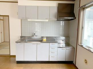 【キッチン】東山田住居付き貸し倉庫