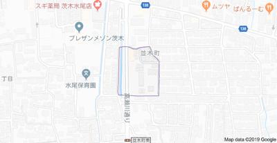 【地図】ブランジスタ並木