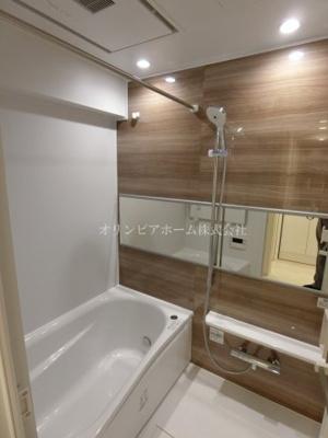 【浴室】仲介手数料無料■ニューパークハイツ 14階 最上階 リノベーション済