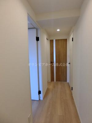 【玄関】仲介手数料無料■ニューパークハイツ 14階 最上階 リノベーション済